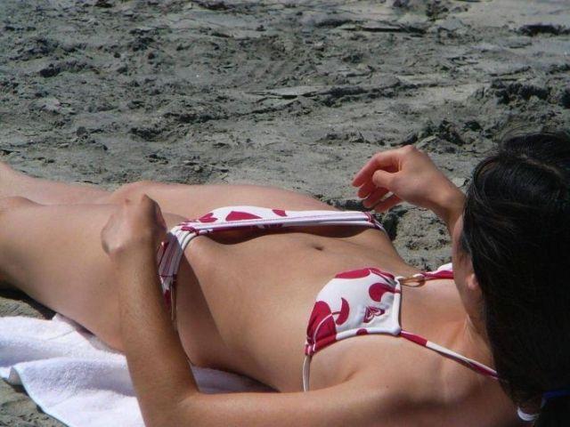 femeie sexi la soare