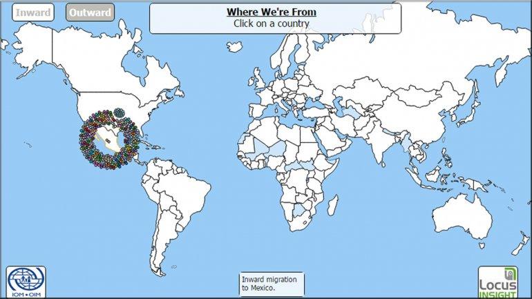 HARTA INTERACTIVĂ a emigrației mondiale: Iată care sunt țările cu cei mai mulți imigranți