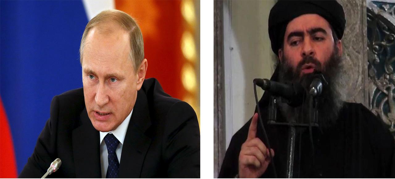 Vladimir Putin vs Abu Bakr al-Baghdadi