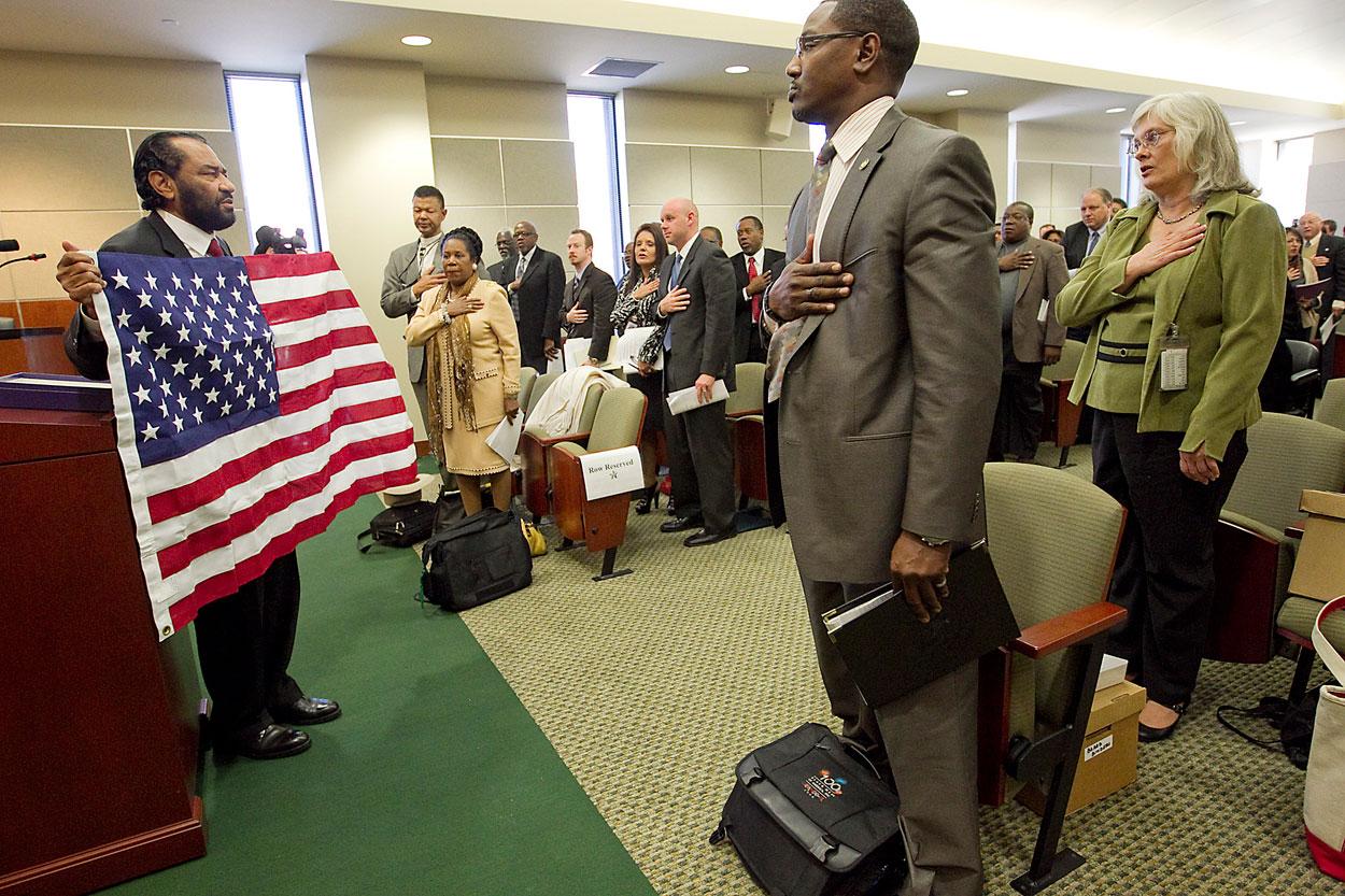 suporteri ai steagului de lupta al Confederației americane