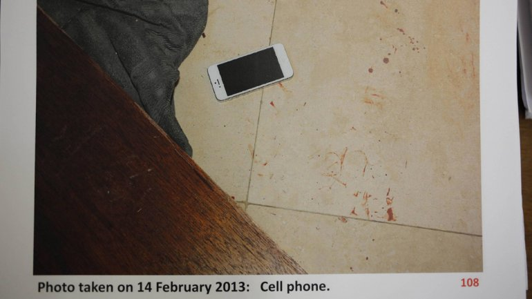 telefon Oscar Pistorius