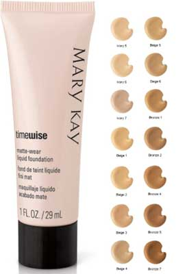 fond de ten Mary Kay