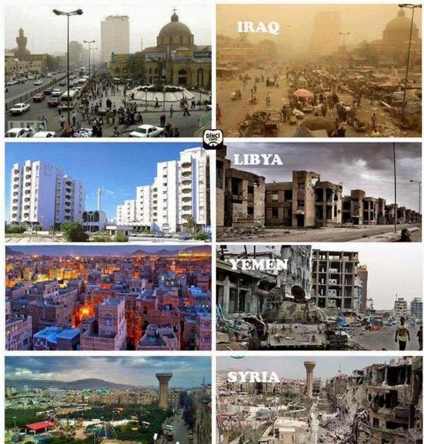 Atunci si acum: Înainte și după instaurarea democrației.