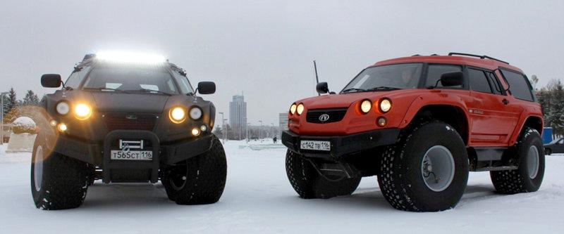 10 vehicule de teren din Rusia care sunt o adevărată capodoperă