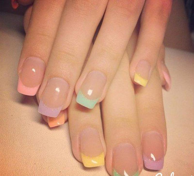 unghii cu manichiura