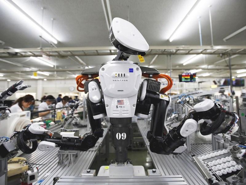 Ne vor lua roboții locurile de muncă?