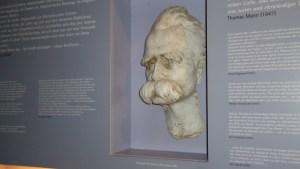Afgietsel van dodenmasker van Nietzsche