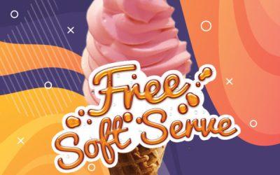 Free Soft Serve