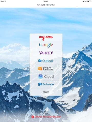 """Klikoni """"OTHER"""" dhe ju qet për ta dhënë emailin tuaj."""