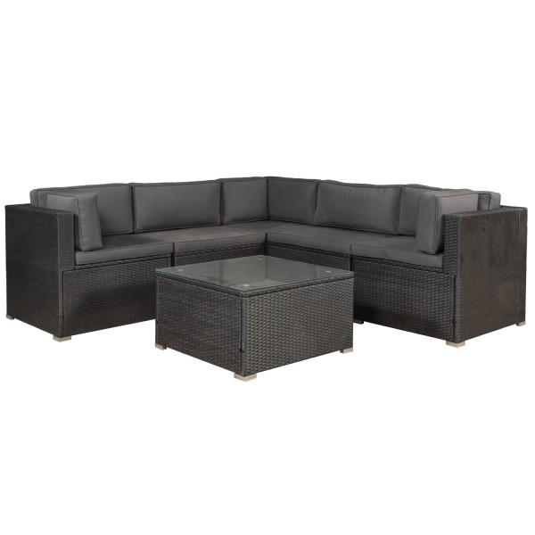 Polyrattan Gartenmbel Lounge Sitzgruppe Nassau mit