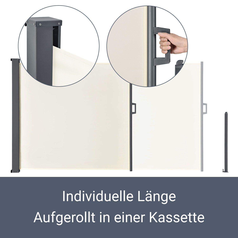 Seitenmarkise Seitenwandmarkise Markise Windschutz Sichtschutz