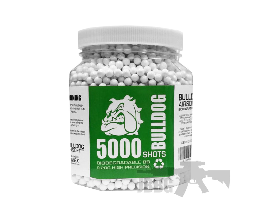 .20G 5000 Bio Airsoft BB in airsoft store texas