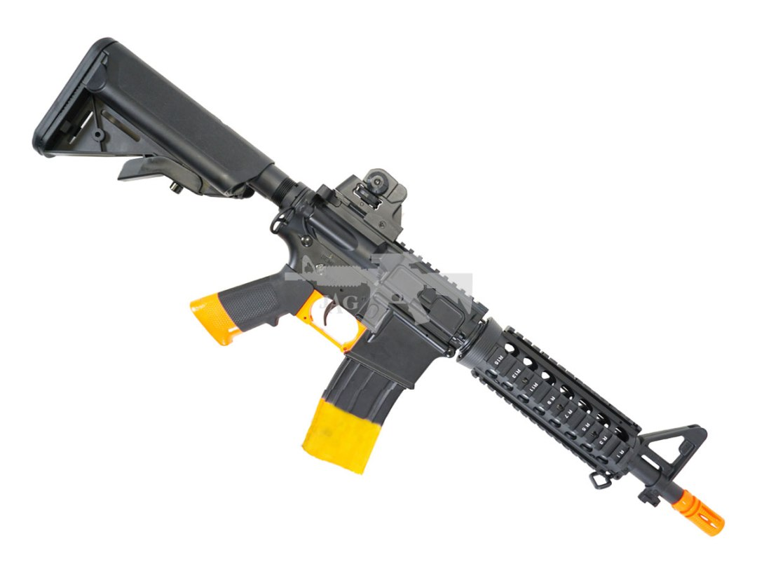 COLT M4 CQB FULL METAL RIS AEG AIRSOFT RIFLE
