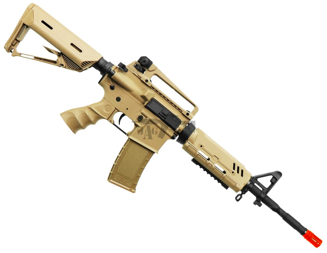 BULLDOG ST ALPHA AIRSOFT ELECTRIC RIFLE GUN TAN IN AIRSOFT GUNS USA