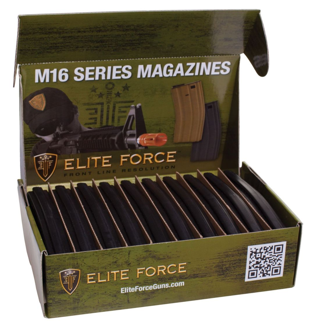 Elite Force 140rd Mid-Cap Magazine for M4 M16 AEG