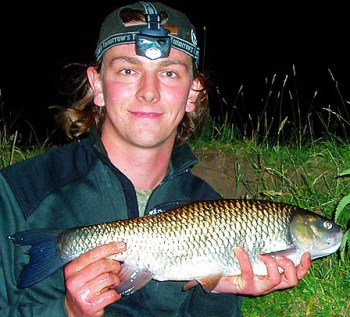 Andrew Kennedy with a 5lb River Trent Chub