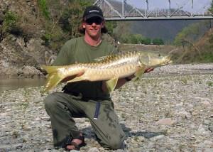 Masheer fishing in India