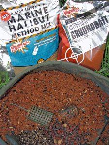 Specimen barbel groundbait mix