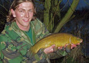 4lb+ tench caught fishing the lift method