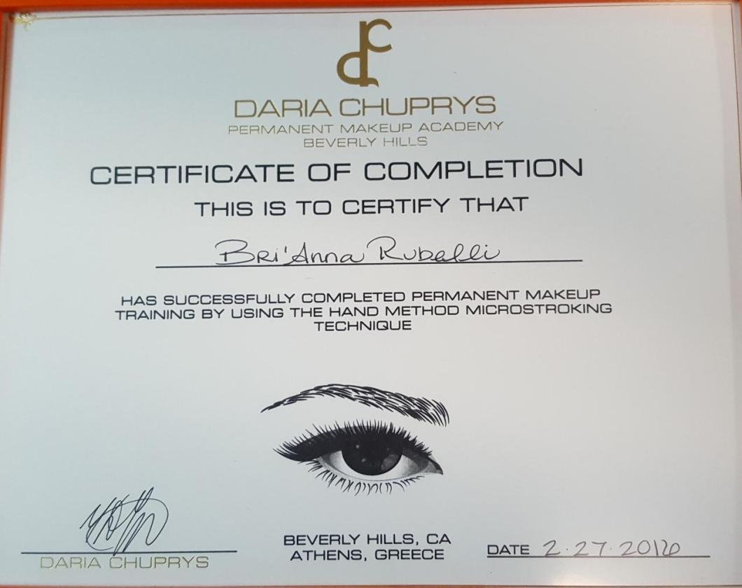 How To Get Certified To Do Permanent Makeup Makewalls