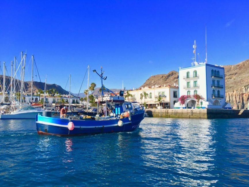 Die Marina von Puerto de Mogán: Hier lässt es sich aushalten! Foto: Sascha Tegtmeyer