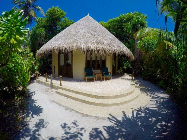 Gut abgeschirmt: Die Bungalows bieten maximale Privatsphäre und separaten Strandzugang. Foto: Sascha Tegtmeyer