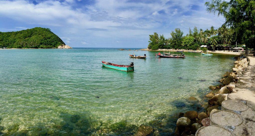 Strände auf Koh Phangan: an allen Ecken und Enden gibt es herrliche Buchten. Foto: Sascha Tegtmeyer