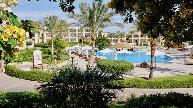 Urlaub in Sharm El Sheikh: Das Cleopatra Luxury Resort war eine ausgezeichnete Wahl! Foto: Sascha Tegtmeyer