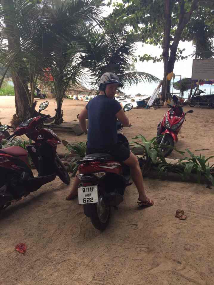 Größte Gefahr im Thailand-Urlaub: Der Verkehr! Foto: Luisa Praetorius