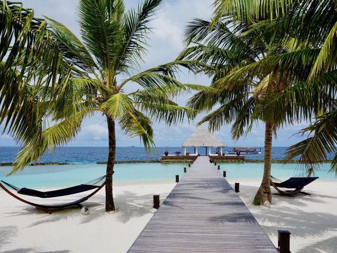 Paraíso tiene un nombre: Coco Bodu Hithi - ¡toda la información sobre la isla en nuestro cuaderno de viaje! Foto: Sascha Tegtmeyer