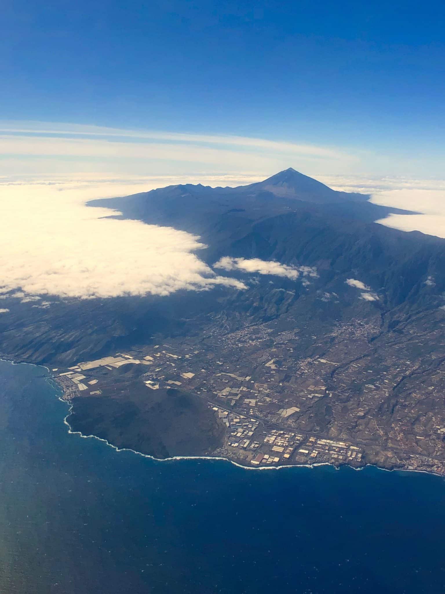Teneriffa Luftbild: so spektakulär sieht die Insel aus der Luft aus. Foto: Sascha Tegtmeyer