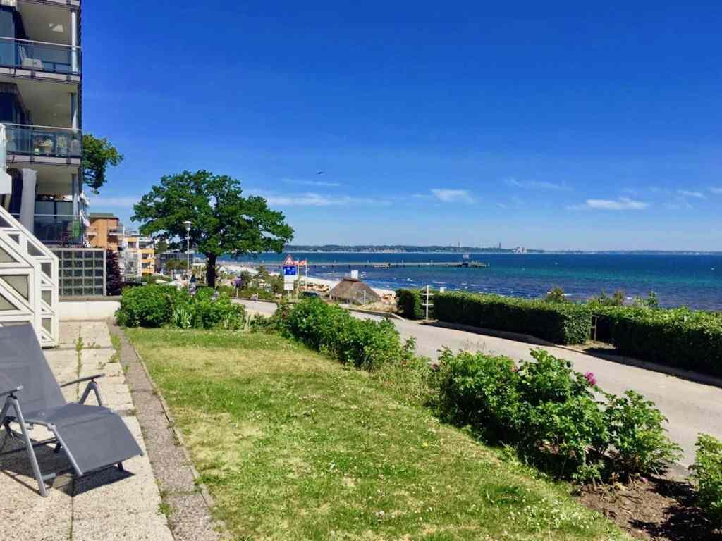 Ausblick auf den Scharbeutzer Strand. Foto: Sascha Tegtmeyer