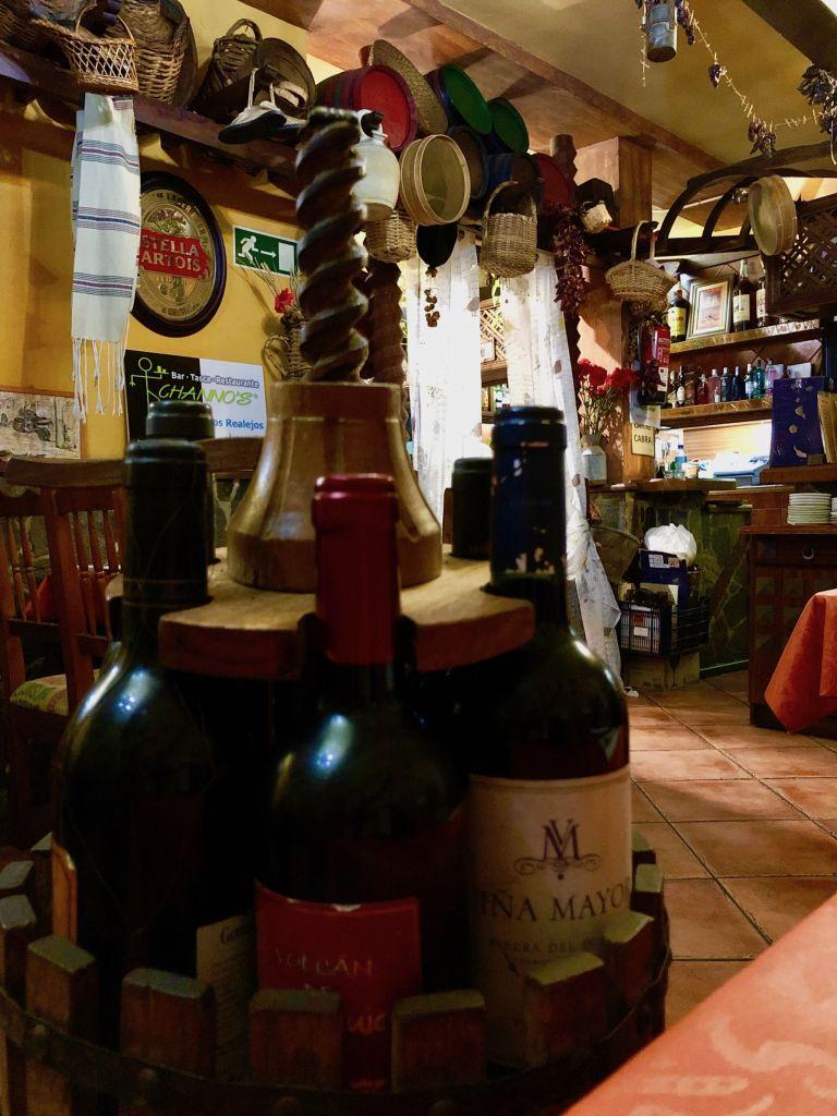 Ein echt kanarisches Restaurant in Los Realejos auf Teneriffa: wir waren jeden Abend original kanarisch essen. Foto: Sascha Tegtmeyer