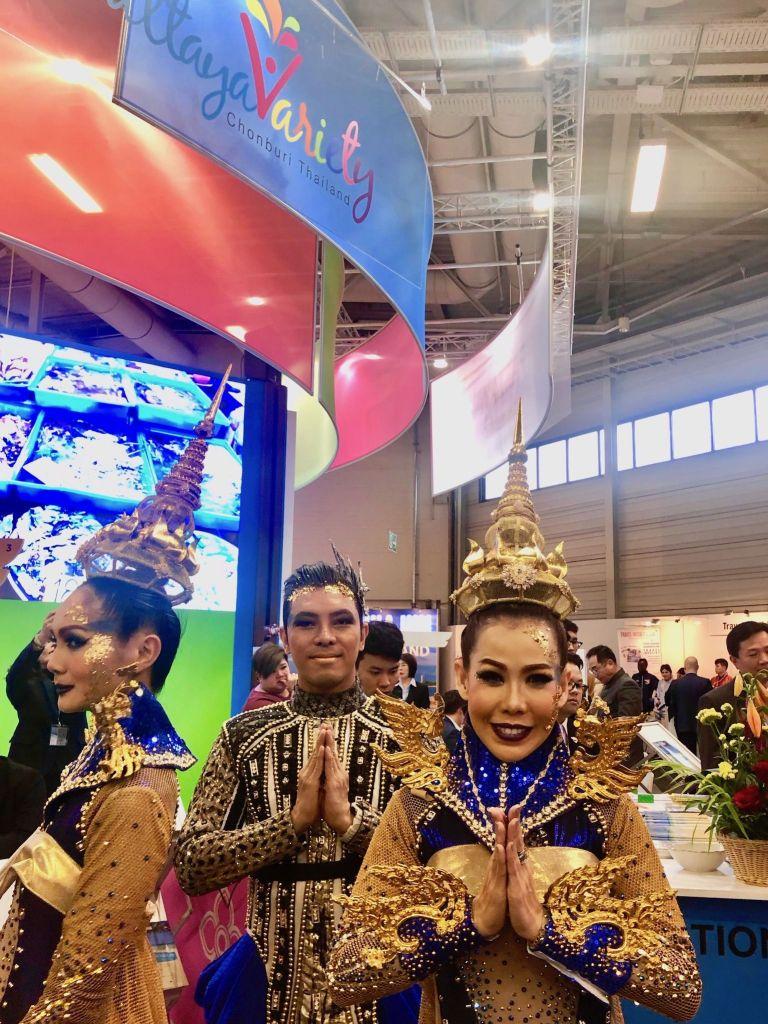 Auch Thailand ist auf der ITB Berlin groß vertreten. Foto: Sascha Tegtmeyer