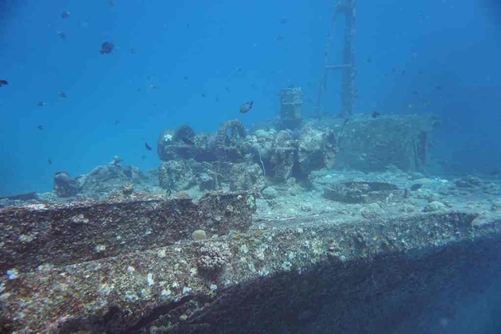 Das Wrack der Stella Maru gehört zu den besten Tauchplätzen auf Mauritius und ist weltbekannt. © Sascha Tegtmeyer
