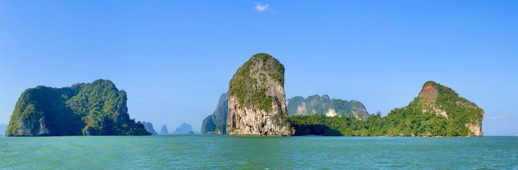 Beeindruckendes Panorama im Phang-nga Nationalpark. Foto: Sascha Tegtmeyer