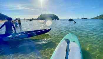 Und am geht es auf's Board: Der Ya Nui Beach im Süden von Phuket ist die beste Location für Anfänger und Fortgeschrittene. Foto: Sascha Tegtmeyer