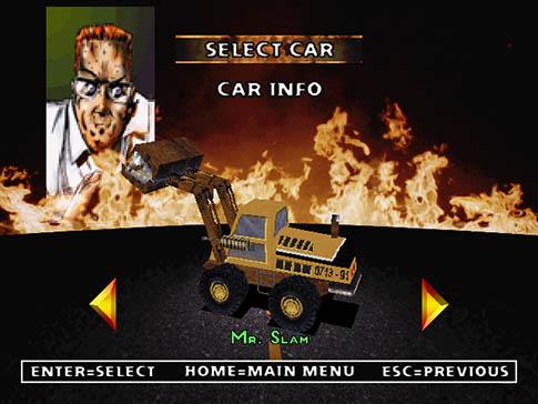 Twisted Metal 2 Mr. Slam