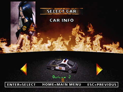 Twisted Metal 2 Outlaw 2