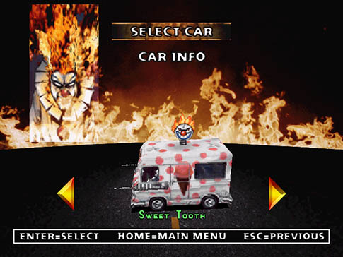 Twisted Metal 2 Sweet Tooth