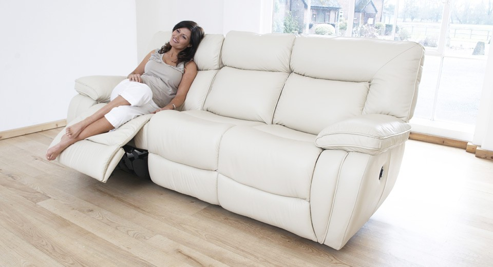 modena 2 seater reclining leather sofa company malaysia 3 electric double recliner