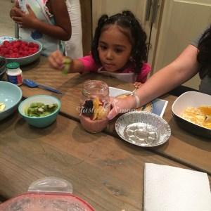 justabxgirl cooks with biokidz