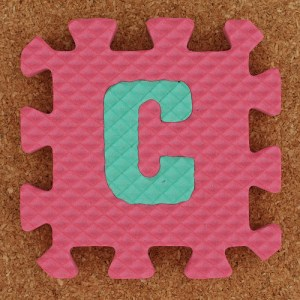 photo credit: Leo Reynolds Foam Letter C via photopin (license)