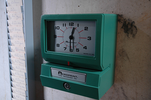 punch-clock