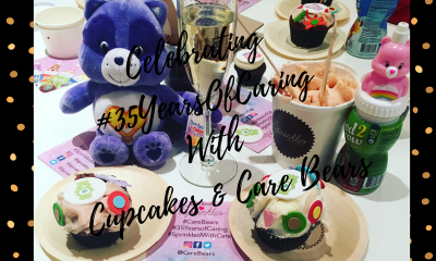 care bears champagne cupcakes