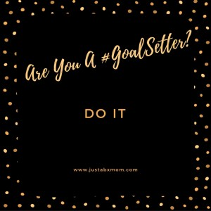 just do it goals goal setting