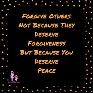 forgiveness forgive others