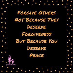 forgiveness forgive others