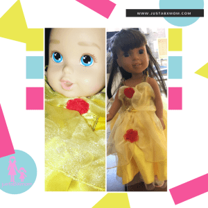 beauty and the beast - dolls - american girl - honestly cute