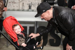 coco, chanel, ice t, cybex, stroller, baby carriage